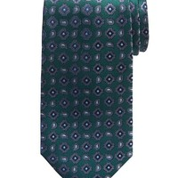 Banana Republic Paisley Silk Tie Size One Size - Green