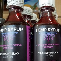 Hemp Syrup Pour-Sip-Relax 2oz