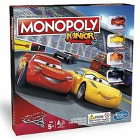 Disney Cars 3 Monopoly Junior