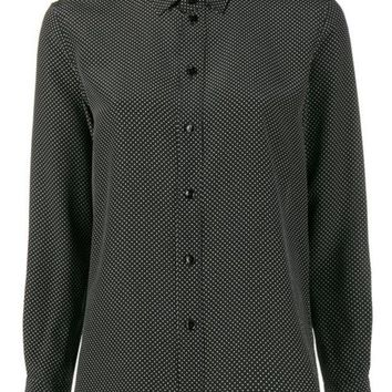 DCCKIN3 Saint Laurent Polka Dot Shirt