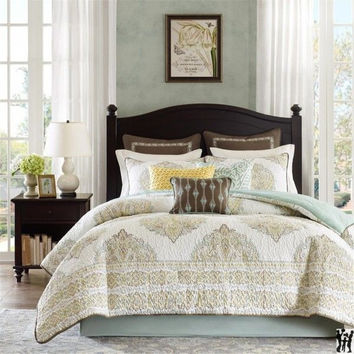 Harbor House Miramar Queen 8pcs. Comforter Set, Multi