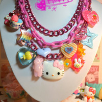 I Love Sweets We Love Sweets Hello Kitty Super Chunky by Kawaii4U