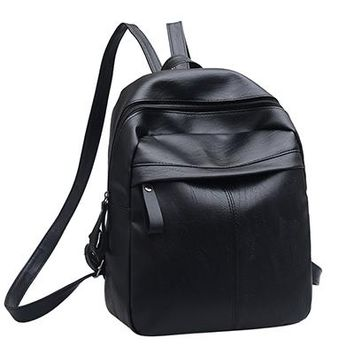 High Quality PU Leather Women Backpack