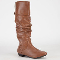 Report Bassett Womens Boots Tan  In Sizes