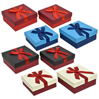Bulk Elegant Square Gift Boxes with Ribbons at DollarTree.com