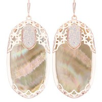Deva Statement Earrings in Brown Pearl - Kendra Scott Jewelry