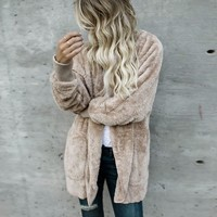Womail fur coat Women Long jacket women winter Hooded fur coats china Hoodies Parka Outwear Cardigan Coat l0111