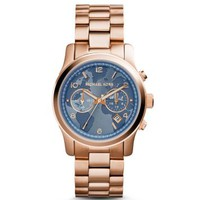 Watch Hunger Stop Runway Rose Gold-Tone Watch | Michael Kors