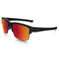 Oakley Sunglasses - Thinlink - Matte Black, Torch Iridium Polarized - OO9316-07