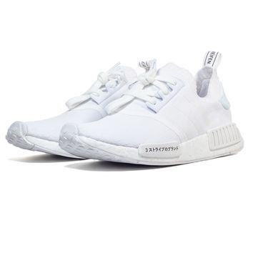 adidas Originals NMD_R1 ALL WHITE JAPAN PRIMEKNIT 100% AUTHENTIC Yezzy DS USA
