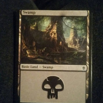 Misprint Magic Swamp Card