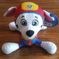 "NEW Paw Patrol Sea Patrol Marshall Plush Stuffed Animal Paw Patrol 8"" Plush Toy"