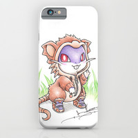 Rat-ical Rodent iPhone & iPod Case by Randy C