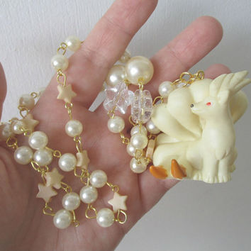 Pokémon Necklace - NINETALES  Figure Necklace - 90s