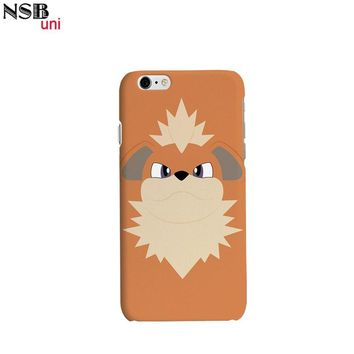 Brand NSBuni 3D Sublimation Unique Protective Cases for iPhone 6/6S  with Cute and Cool  Go Designs  Kawaii Pokemon go  AT_89_9