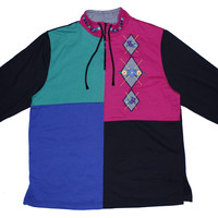 Patchwork Sweatshirt L