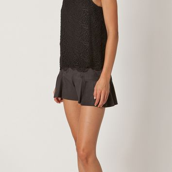 Lace Crochet Tank Top