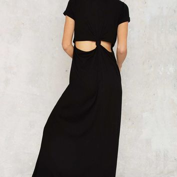 As Easy as They Come Cutout Maxi Dress