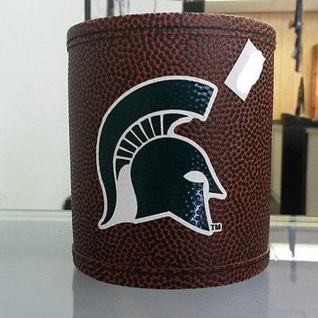 NCAA Michigan State Spartans Football Can Holder