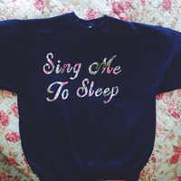 reserved for Isabel - The smiths sing me to sleep crewneck