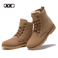 2015 fashion winter shoes women's winter suede boots for men ladies snow boot botines mujer chaussure femme