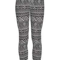 Tribal Capri Leggings Yoga Fitness Workout Gym Beach Pants Streetwear Women Girls Sports Clothing Fashion Yoga Life Style