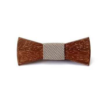 Wooden bow ties wooden accessories dandy style wood bowtie