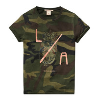 Scotch Shrunk Boys Rocker Tee in Camouflage -1441-02.51514 -  FINAL SALE