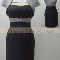 Freeshipping E62260 silver grey black Taffeta tea length mother of the bride jacket dresses modest, View mother of the bride jacket dresses modest, Choiyes Wedding Dress Product Details from Chaozhou Choiyes Evening Dress Co., Ltd. on Alibaba.com