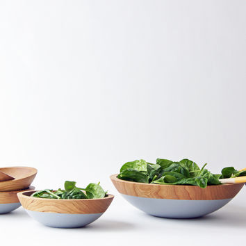 Salad Serving Set, Cherry Wood {3 color options}