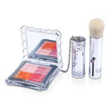Jill Stuart Mix Blush Compact N (4 Color Blush Compact + Brush) - # 06 Porcelain Flower --8g-0.28oz By