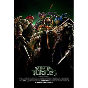 Teenage Mutant Ninja Turtles 27x40 Movie Poster (2014)