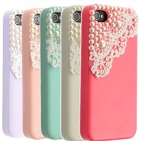 Pearls & Lace iPhone Case
