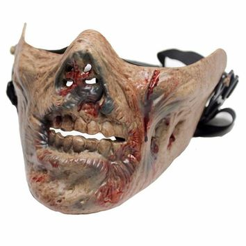 Military Tactical Protective Mask Airsoft Sports Paintball Wargame Shooting Accessories Zombie Skull Masks Halloween Cosplay