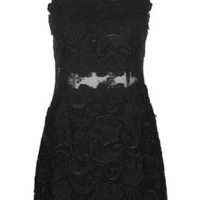 Lace Bodycon Dress - Dresses - Clothing