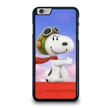 snoopy dog iphone 6 6s plus case cover  number 1