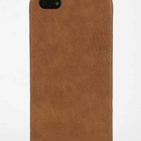 Vegan Leather iPhone 5/5s Case- Light Brown One