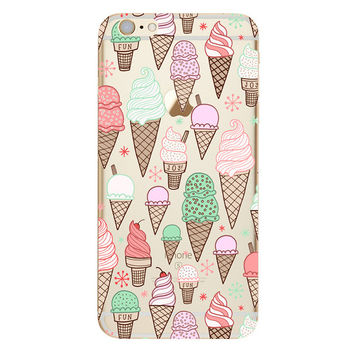 Ice Cream Cones Phone Case For iPhone 7 7Plus 6 6s Plus 5 5s SE