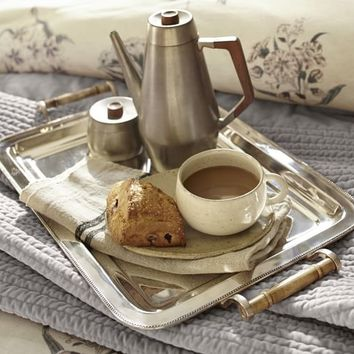 Silver-Plated Breakfast Tray