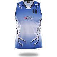 Sublimated lightning Design Basketball Jersey