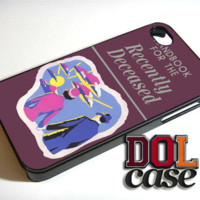 New Beetlejuice Handbook for the Recently Deceased iPhone Case Cover|iPhone 4s|iPhone 5s|iPhone 5c|iPhone 6|iPhone 6 Plus|Free Shipping| Delta 463