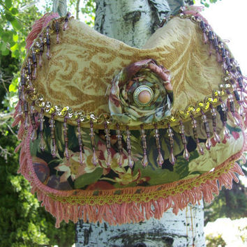 Bohemian Gypsy Bag Hippie Messenger Purse by Fairybelles on Etsy