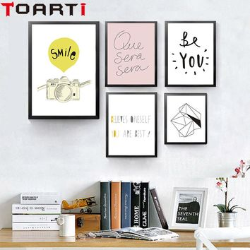 Creative Geometry Heart And Various Line Shapes Art Painting Canvas Poster And Prints Wall Pictures For Living Room Home Decor