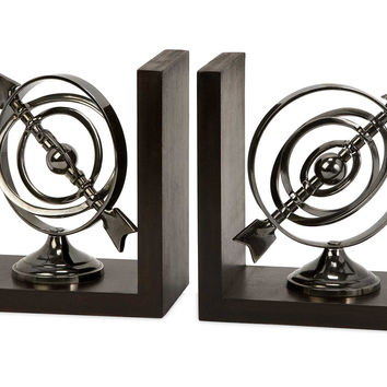 Priceless and Defining Calisto Armillary Bookends