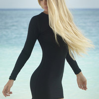 The Girl and The Water - Mikoh Swimwear - Caribbean Mini Dress Night - $176
