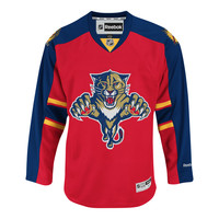 Florida Panthers Reebok Premier Replica Home NHL Hockey Jersey