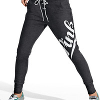 Lace-Up Skinny Collegiate Pant - PINK - Victoria's Secret