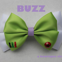 buzz hair bow by abowtiqueshop on Etsy