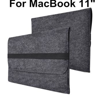 new Wool Felt Envelope Laptop Sleeve Case Cover size 1113