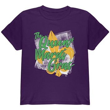 The Queen of Mardi Gras Youth T Shirt
